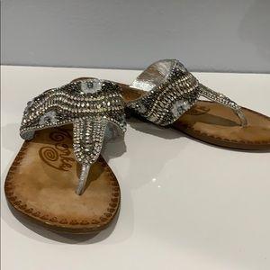Naughty Monkey Sparkly Sandals